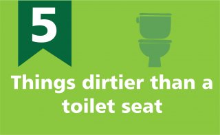 5 things dirtier than a toilet seat